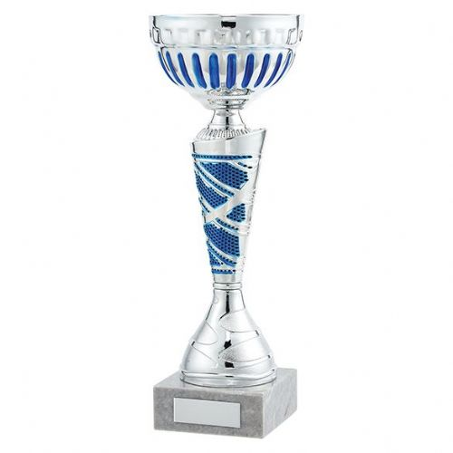 Charleston Cup Silver & Blue 265mm